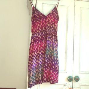 Ecoté Silk Patterned Dress